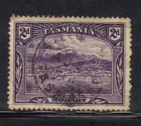 T1906 - TASMANIA 2 Pence Wmk TAS Used - 1853-1912 Tasmania