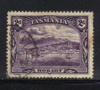 T1908 - TASMANIA 2 Pence Wmk TAS Used - 1853-1912 Tasmania
