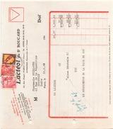 France Timbre Sur Facture Du 10 Fevrier 1947 De Paris Pour Issoudun Lacteol Du Docteur Boucard - France