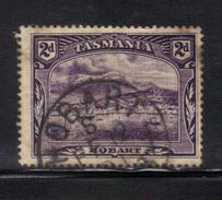 T1909 - TASMANIA 2 Pence Wmk TAS Used - 1853-1912 Tasmania