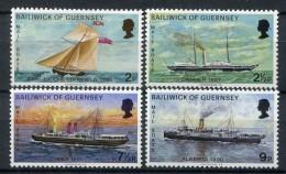 Guernsey 1972. Yvert 57-60 ** MNH. - Guernesey