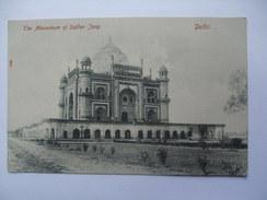 INDIA Delhi - Mausoleum Of Safoar Jang - India