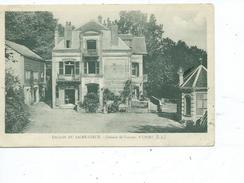 """76-YPORT-Une Vue Animée De La Colonie De Vacances """"SAINT-VINCENT""""-*ENCLOS Du SACRE COEUR* - Yport"""