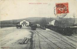 21 POUILLY-EN-AUXOIS GARE TRAIN - France
