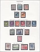 Danemark - Collection Vendue Page Par Page - Timbres Oblitérés/neufs * (avec Charnière) - Qualité B/TB - Usati
