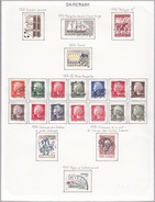 Danemark - Collection Vendue Page Par Page - Timbres Oblitérés/neufs * (avec Charnière) - Qualité B/TB - Gebraucht