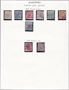 Danemark - Collection Vendue Page Par Page - Timbres Oblitérés/neufs * (avec Charnière) - Qualité B/TB - Otros