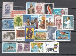 India 1981,24V,nice Collection Year 1981,mooie Verzameling Schöne,sammlung,with Sets,,MNH/Postfris(C130) - Ongebruikt