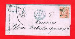 Y/t 31 - ETOILE DE PARIS N° 12 BOULEVARD DE BEAUMARCHAIS - 1863-1870 Napoleon III With Laurels