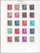 Espagne - Collection Vendue Page Par Page - Timbres Oblitérés/neufs * (avec Charnière) - Qualité B/TB - 1931-Oggi: 2. Rep. - ... Juan Carlos I