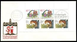 NEDERLAND - 1980 Kinderpostzegelactie Amsterdam. Kindervelletje Op Speciale Envelop. - 1949-1980 (Juliana)