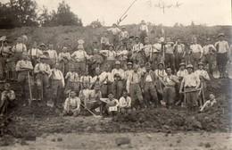 Travaux De Deblaiement Ou De Construction Par Militaires En Casernement A Belfort  -  1920 - Militaria