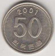 @Y@   Zuid  Korea   50  Won   2001    (4253) - Korea (Süd-)