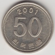 @Y@   Zuid  Korea   50  Won   2001    (4253) - Korea (Zuid)