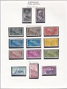 Espagne - Collection Vendue Page Par Page - Timbres Oblitérés/neufs * (avec Charnière) - Qualité B/TB - Poste Aérienne