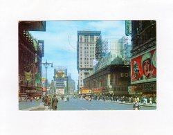 66188    Stati  Uniti,  Times Square,  The Great White Way,  Broadway, VG  1964 - Time Square