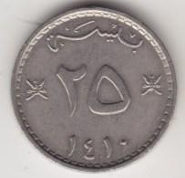 @Y@   Oman   25  Baisia   1989 - 1410        (4256) - Oman