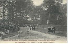 MAULDE-BARRY : Pensionnat Notre-Dame - RARE CPA - Cachet De La Poste 1913 - Doornik