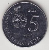 @Y@   Maleisie  5 Sen 2012  Unc       (4259) - Maleisië