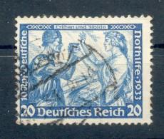 DR-3.Reich 505A Gute ZÄHNUNG Gest. 250EUR (E9400 - Briefe U. Dokumente