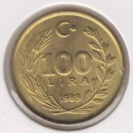 @Y@   Turkije  100  Lira  1989 Unc     (4261) - Turkije