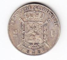 BELGIUM MORIN CAT N° 171  SUP+   1887  FL .  (C 68) - 1865-1909: Leopold II