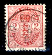 Antille-Danesi-F054 - 1900-1903: Yvert & Tellier N. 17 - Privo Di Difetti Occulti - - Dänemark (Antillen)