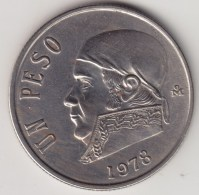@Y@   Mexico   1 Peso  1978         (4267) - Mexico