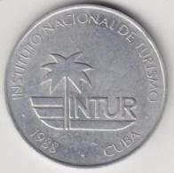 @Y@   Cuba  25 Centavos  1988       (4269) - Cuba