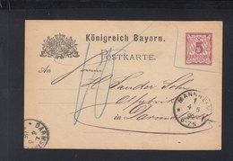 Bayern GSK 1886 Mannheim Nach Damstadt Nachporto - Bayern