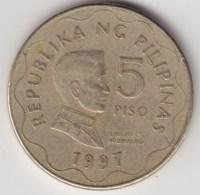 @Y@   Filippijnen 5 Piso  1997            (4278) - Filippijnen