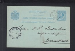 Briefkaart Waalwijk 1889 - Postal Stationery