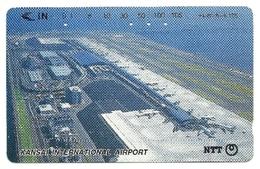 Giappone - Tessera Telefonica Da 105 Units T178 - NTT, - Avions