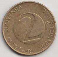 @Y@   Slovenië  2 Tolarja   1995            (4281) - Slovenië