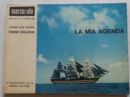 AGENDA TOURING MARCO POLO-  EDIZIONE OTTOBRE  1965 ( CART 77) - Unclassified