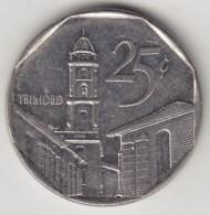 @Y@   Cuba  25 Centavos  1994    (4282) - Cuba