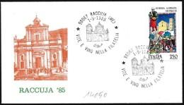 Italia/Italie/Italy: Vite E Vino, Chiesa, Vine And Wine, Church, Vigne Et Le Vin, église - Vini E Alcolici