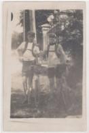Cpa  Carte-photo 2 Jeunes Cyclistes     ((S.1320)) - Cyclisme