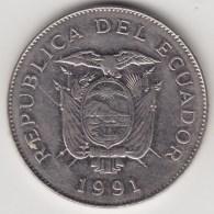 @Y@   Ecuador  5 Sueres  1991       (4284) - Ecuador