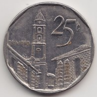 @Y@    Cuba   25 Centavos  2000        (4291) - Cuba