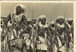 PHOTO 7.5x10.5 (ruanda)  Danseurs Du Roi - Ruanda-Urundi
