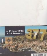 CHANGEMENT DE NUMEROTATION 50 U MF 41 - Monaco