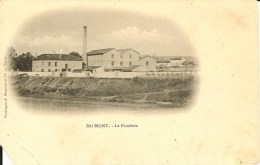CPA - LOIRE - BALBIGNY, La Féculerie - Otros Municipios