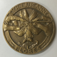 MEDAILLE BRONZE SVH LAUSANNE - FLORES - Tokens & Medals