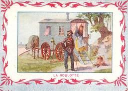Image (4) La Roulotte Texte Au Dos - En TB.Etat - Andere