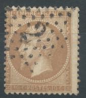 Lot N°33292   Variété/n°21, Oblit étoile Chiffrée 2 De PARIS (R. St-Lazare), Piquage - 1862 Napoleon III