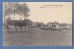 91 Essonne La Folie Bessin Entree Du Pays Et Route De Marcoussis Ed Lucas Maire Montlhery - Otros Municipios