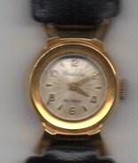 Montre Dame Suisse CRISTALOR Mécanique Or Ou Plaqué Or ( Petits Poinçons Sur Le Côté ) - Watches: Jewels