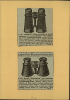 JUMELLES - Publicité Issue D´une Revue De 1927 Et Collée Sur Carton - Lunettes - Optique - - Publicités