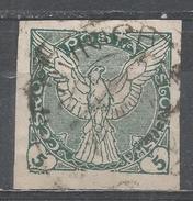 Czechoslovakia 1918, Scott #P2 Windhover (U) - Timbres Pour Journaux
